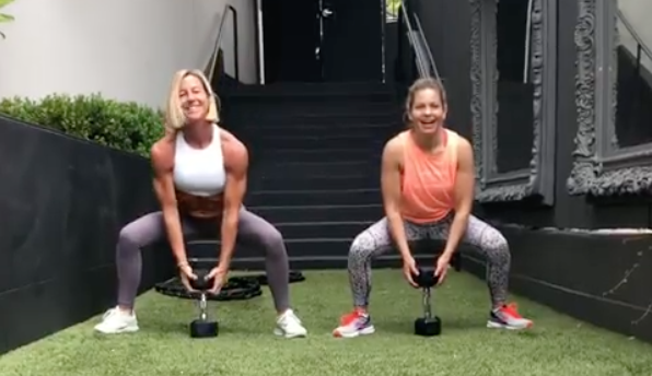 Candace Cameron Bure's Lower-Body Workout Will Strengthen Your Legs, Glutes, and Thighs