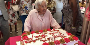 107 year old woman secret to life