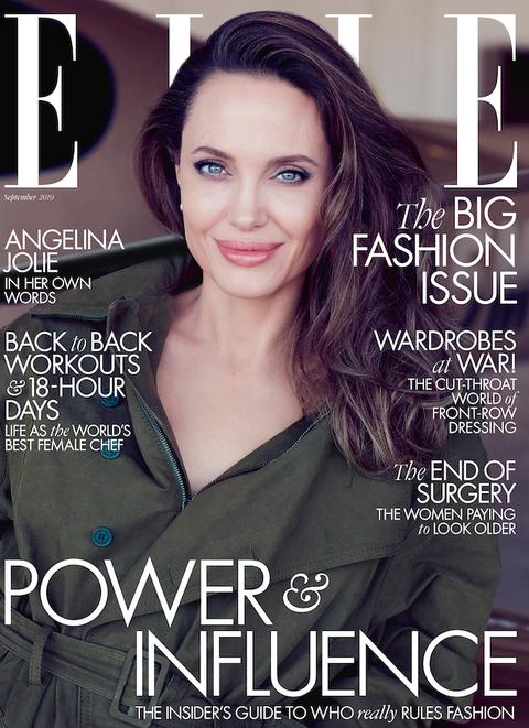 Angelina Jolie ELLE UK September 2019