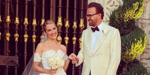 Amanda Hearst wedding dress