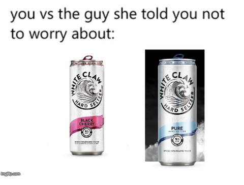 All Those White Claw Memes On Instagram Explained