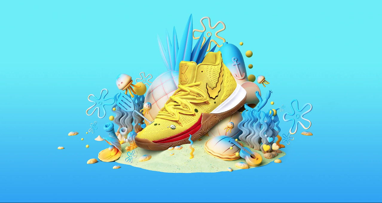 Nike's New SpongeBob x Kyrie Irving Collaboration Will Have