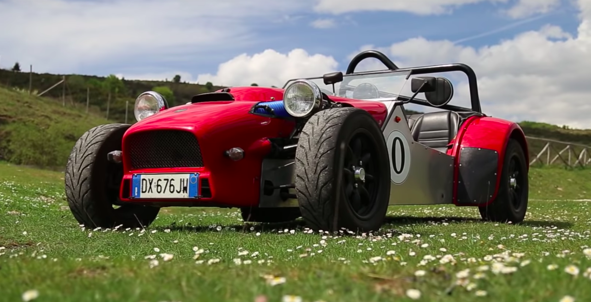 S2000 Engine Swapped Caterham Seven Engine Exhaust Sound Video