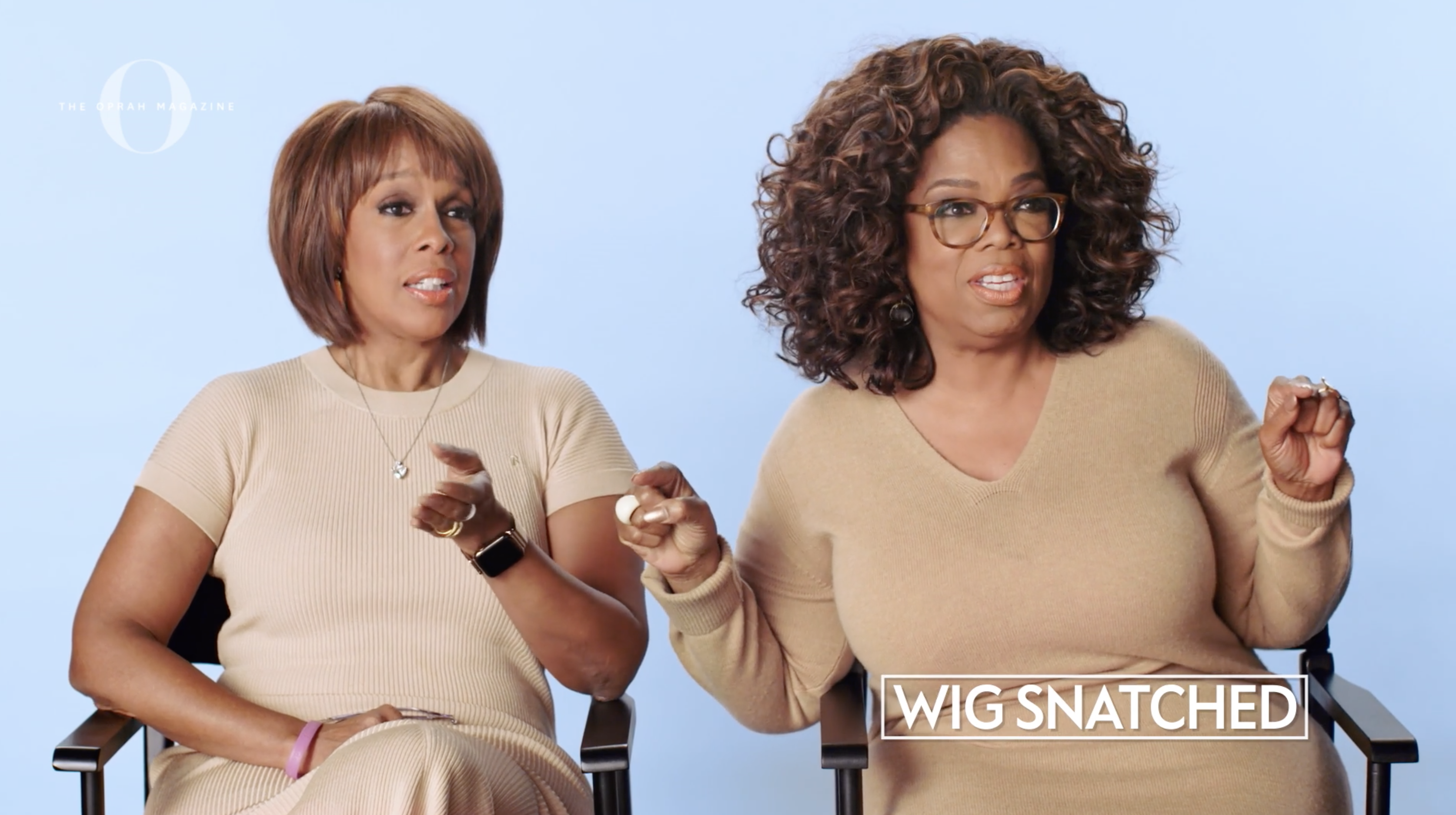"""Watch Oprah and Gayle Attempt to Define Slang Words like """"Thirst Trap"""" and """"Wig Snatched"""""""