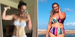 Instagrammer admits her weight loss goal made her more insecure