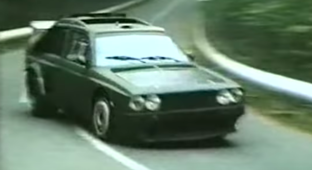 Check Out The Lancia Delta S4 Group B Rally Car Testing In Period