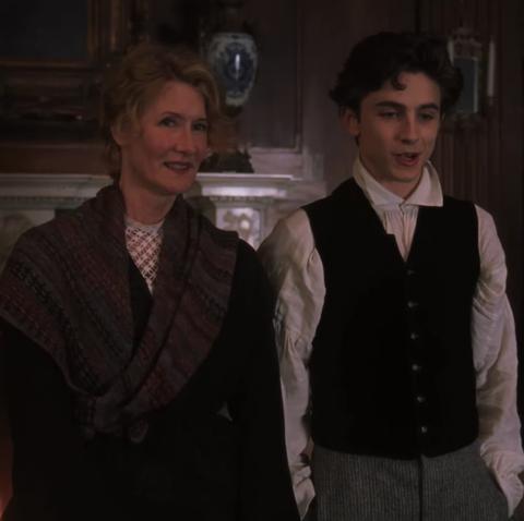 The Little Women 2019 Trailer Stars Meryl Streep Timothee Chalamet S Hair