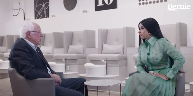 Watch Bernie Sanders and Cardi B Finally Meet to Talk Student Debt and Police Brutality