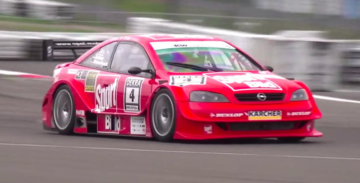 Opel's First DTM Car Makes a Ferocious Noise