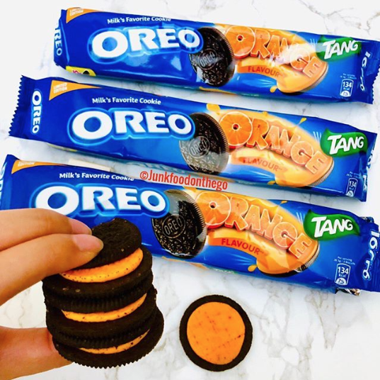 Oreo Unveiled Its New Orange Tang-Flavored Cookie, And It's Really...Something