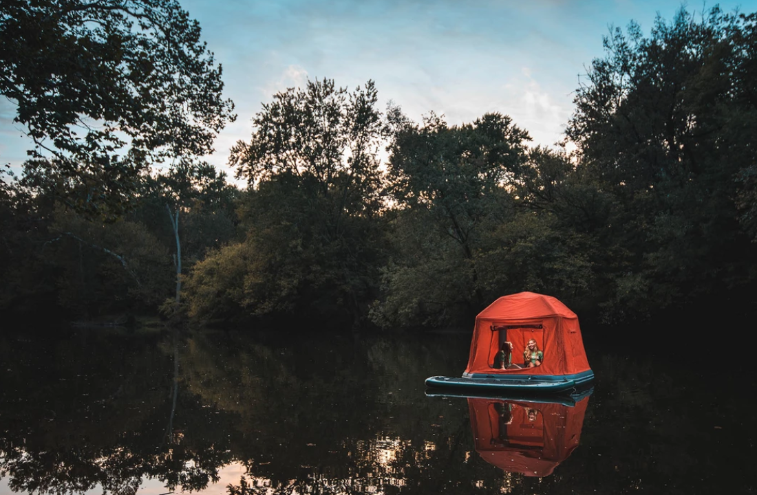 This Floating Tent Lets You Go Camping On Water