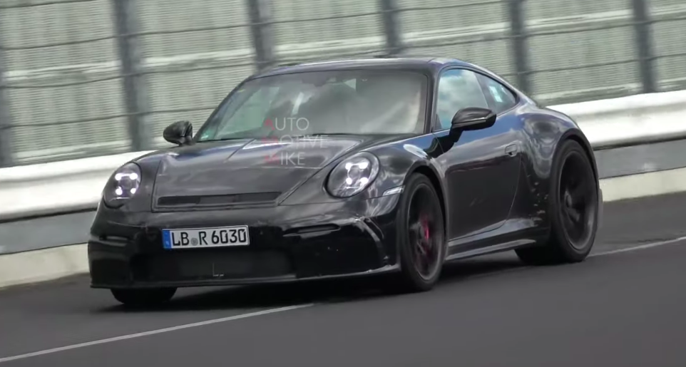 This Is Probably the New Porsche 911 GT3 Touring