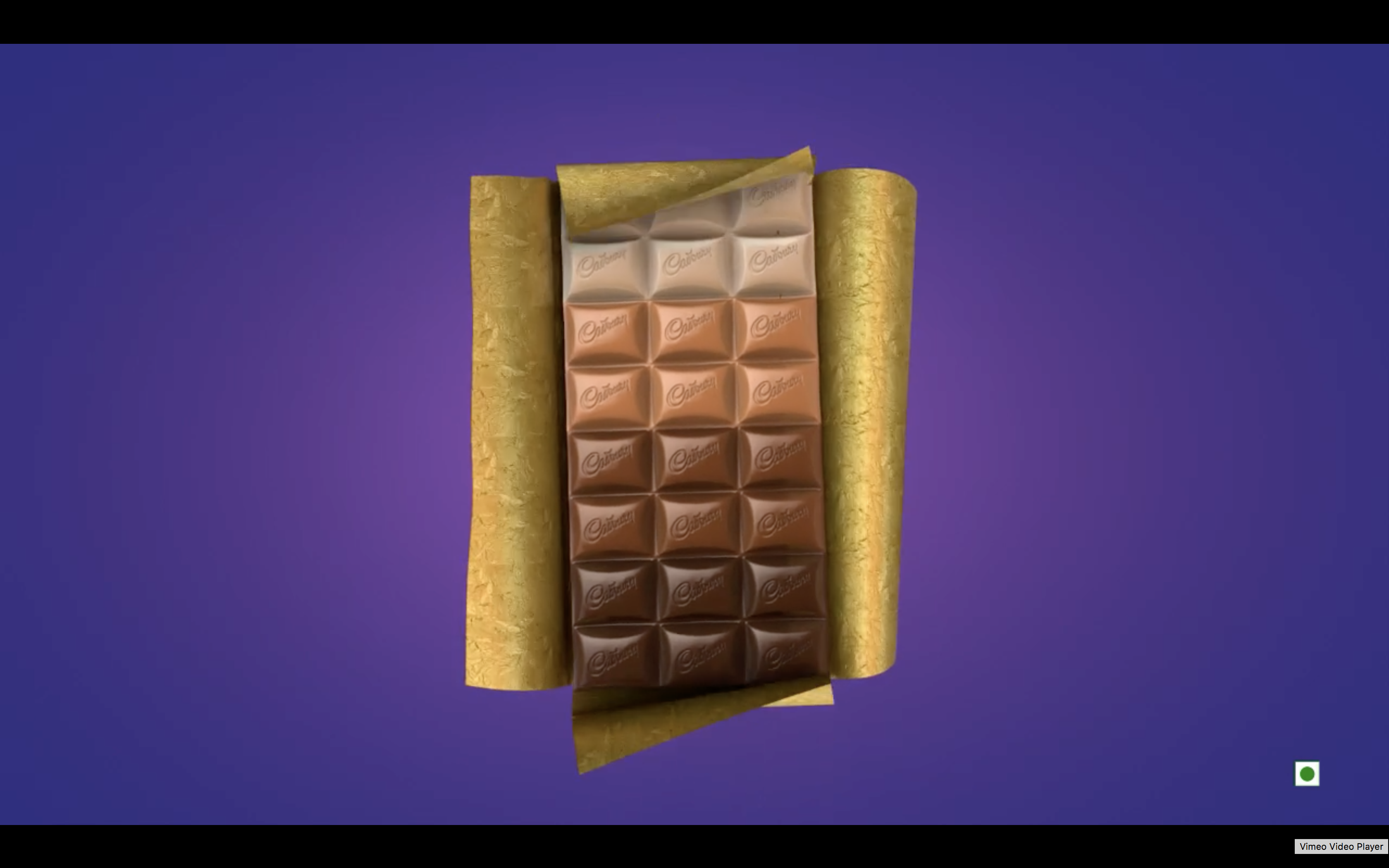 Cabury Made A Chocolate Bar That Has Four Different Types Of Chocolate In It