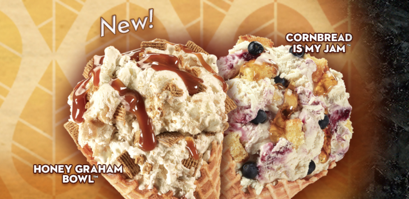 Cold Stone's New Fall Flavor Has Actual Cornbread Pieces In It