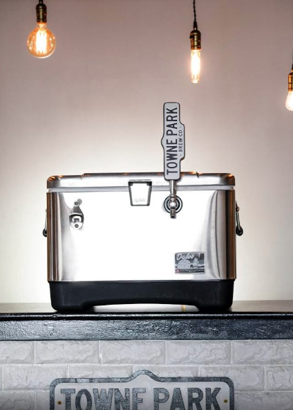 Igloo Created A Cooler For Your Keg That Has A Built-In Beer Tap