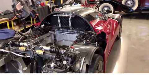 Here's a Rare Look under the Skin of the Ferrari P4/5 by Pininfarina