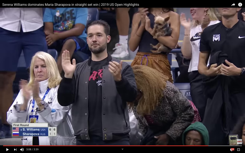 Serena Williams' Husband Turned a Vintage T-Shirt Into a Brilliant Fashion Troll