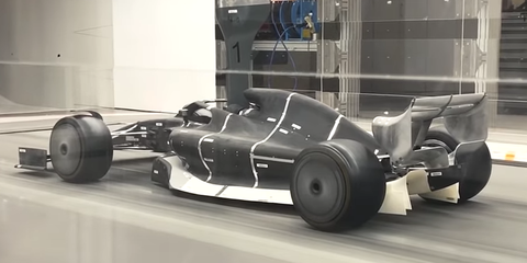 Here's Your First Look at the 2021 Formula 1 Car Design