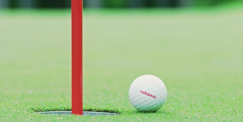 Nissan's Newest Self-Driving Tech Helps Golf Balls Find the Hole Every Single Time