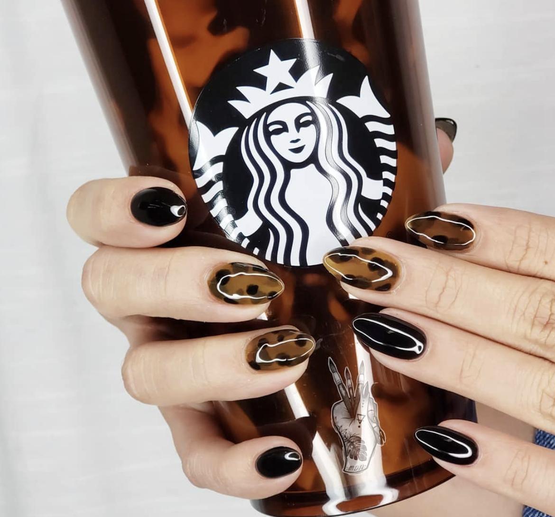 Starbucks' New Gigantic Tortoiseshell Reusable Cups Are Already Almost Gone