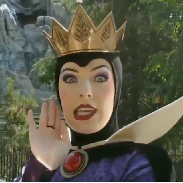 People Are Obsessed With The Disneyland Actress Who Plays The Evil Queen The good princess, evil queen trope as used in popular culture. disneyland actress who plays the evil queen