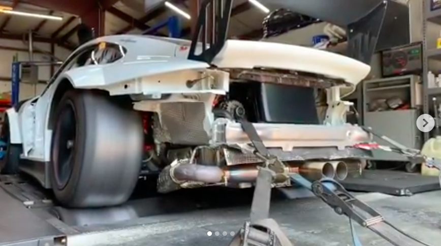 A Porsche GT3 Cup MR with Long Tubes Sounds Like Glory