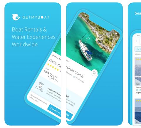 Luxury travel app