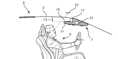 Volvo Patents a Head-Up Display That's on the Roof