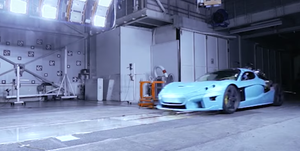 Rimac C_Two Crash Testing