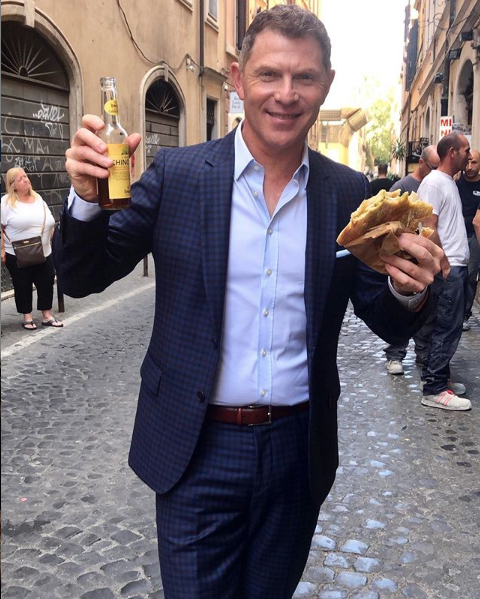 Bobby Flay And Giada De Laurentiis Are Cooking Up A Secret Project In Italy