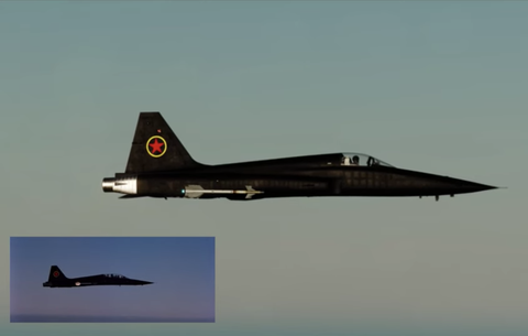 Top Gun Opening Scene | Top Gun Recreated in Flight Simulator