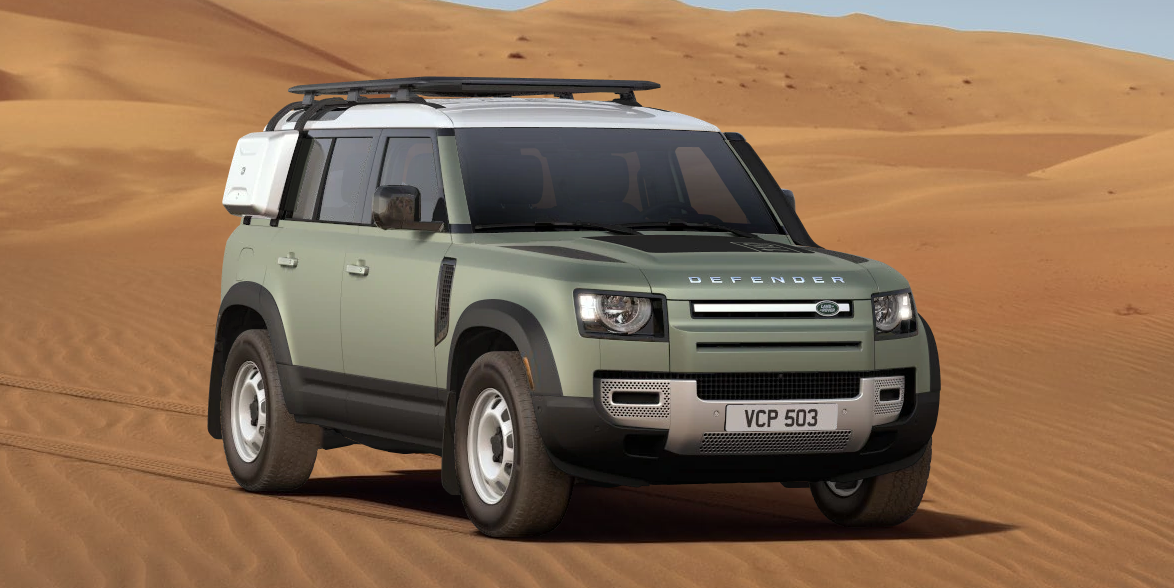 How We'd Spec It: A $65,000 Land Rover Defender with Steel Wheels