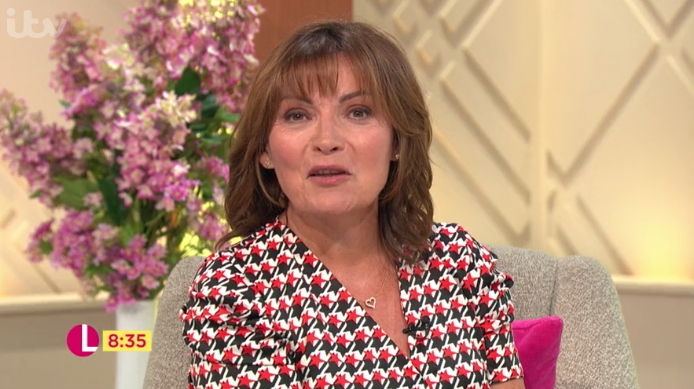 Lorraine dazzles in River Island star print dress – and it can be yours for just £26