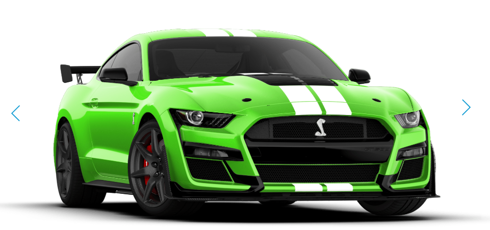 Painted Racing Stripes on the Ford Mustang Shelby GT500 Cost $10,000