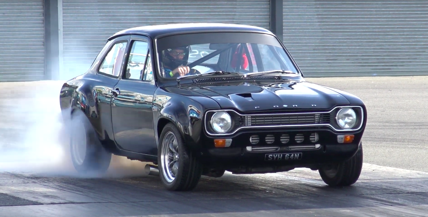 Listen to the Sound of This 600-HP Cosworth-Powered Mk1 Escort