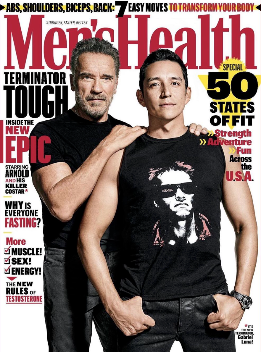 Here's Where You Can Buy the Terminator Shirt Gabriel Luna Wears on Our Cover