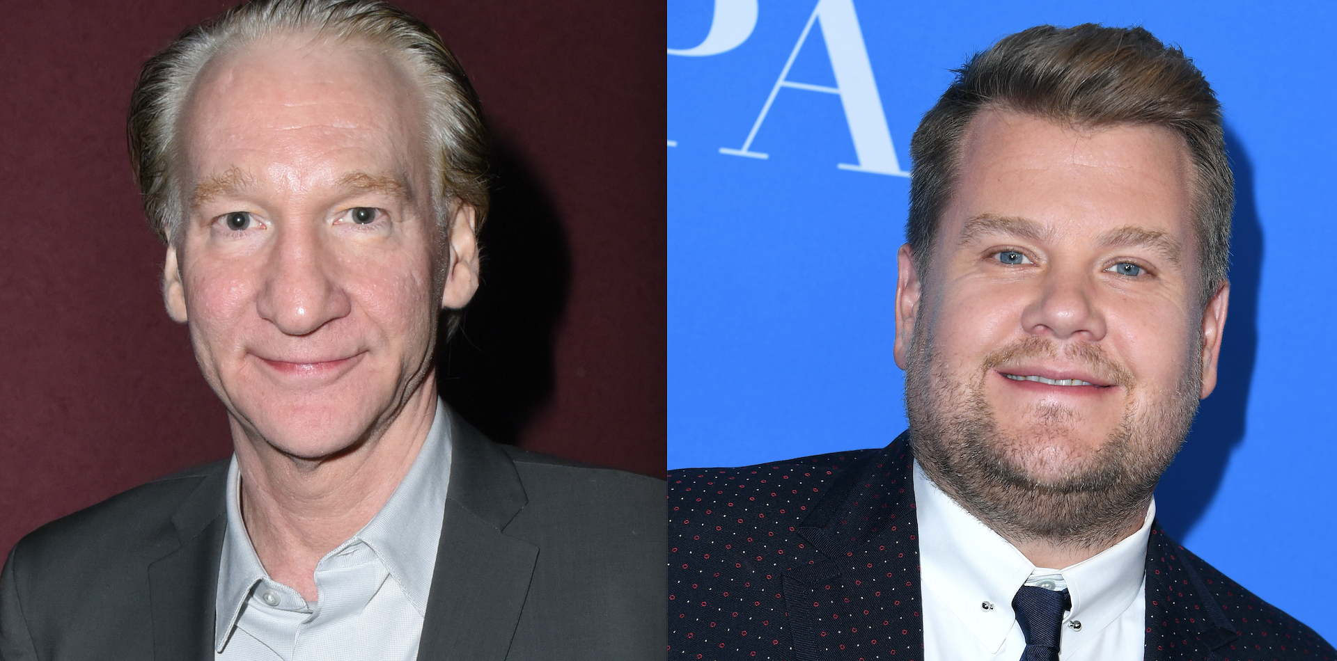 James Corden Called Out Bill Maher For Encouraging Fat Shaming