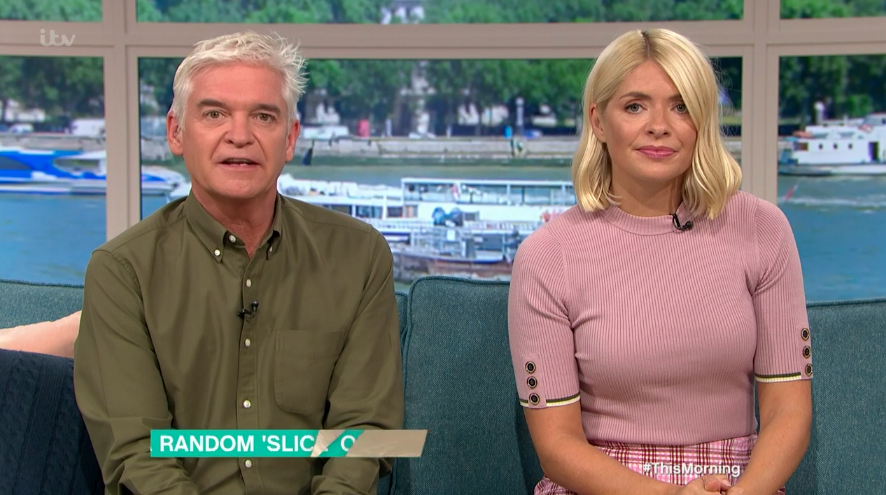 Holly Willoughby's pink check skirt is the perfect autumn buy