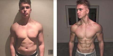joe weller body transformation youtube