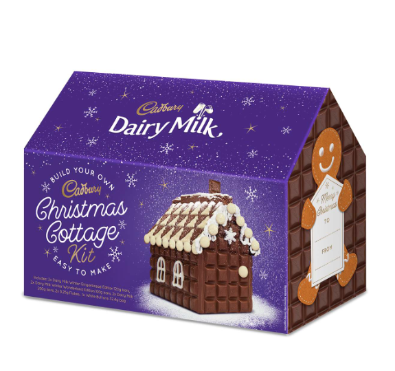 Cadbury Is Selling A 'Christmas Cottage Kit' That's Made Entirely Of Milk Chocolate