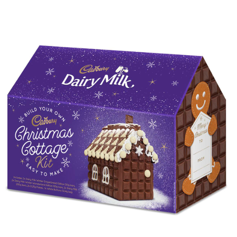Christmas Chocolate.Cadbury Is Selling A Christmas Cottage Kit With Its New