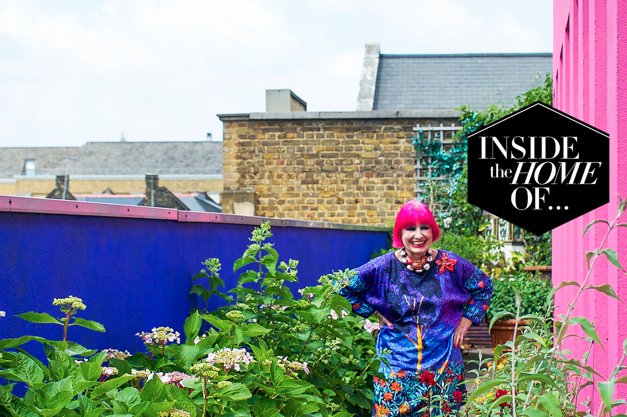 Inside the home of... Zandra Rhodes