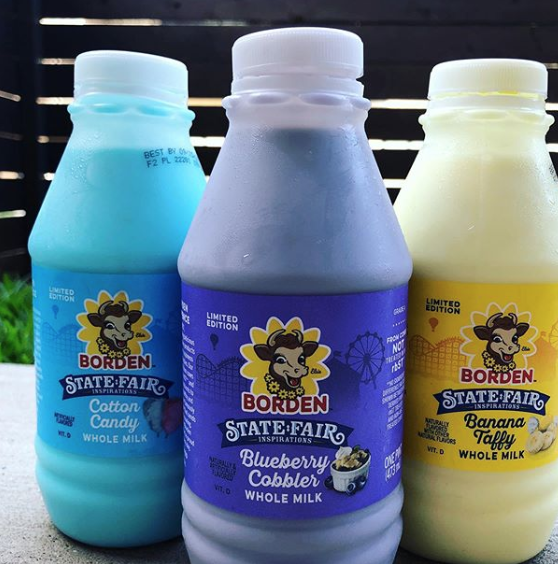 This State Fair-Inspired Milk Tastes Exactly Like Cotton Candy