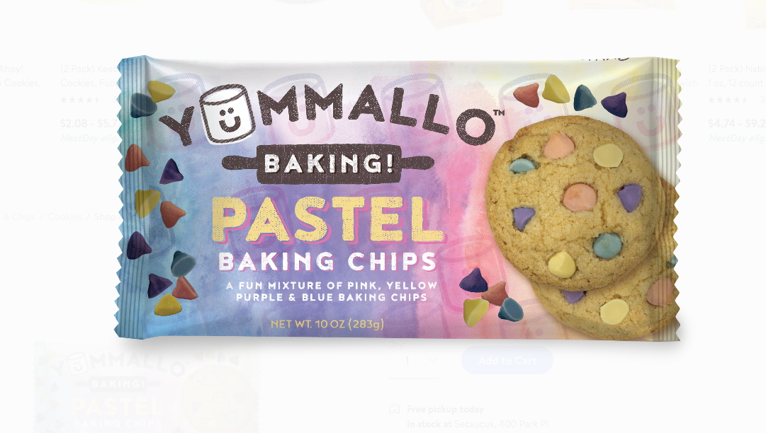 Pastel-Colored Vanilla Baking Chips Are What Your Treats Need