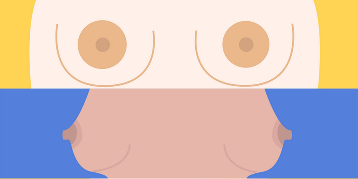 Nipples of different types Nipple Facts: