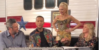 "'The Voice' Coaches Sang Gwen Stefani's ""Don't Speak""—And It's Giving Us Life"