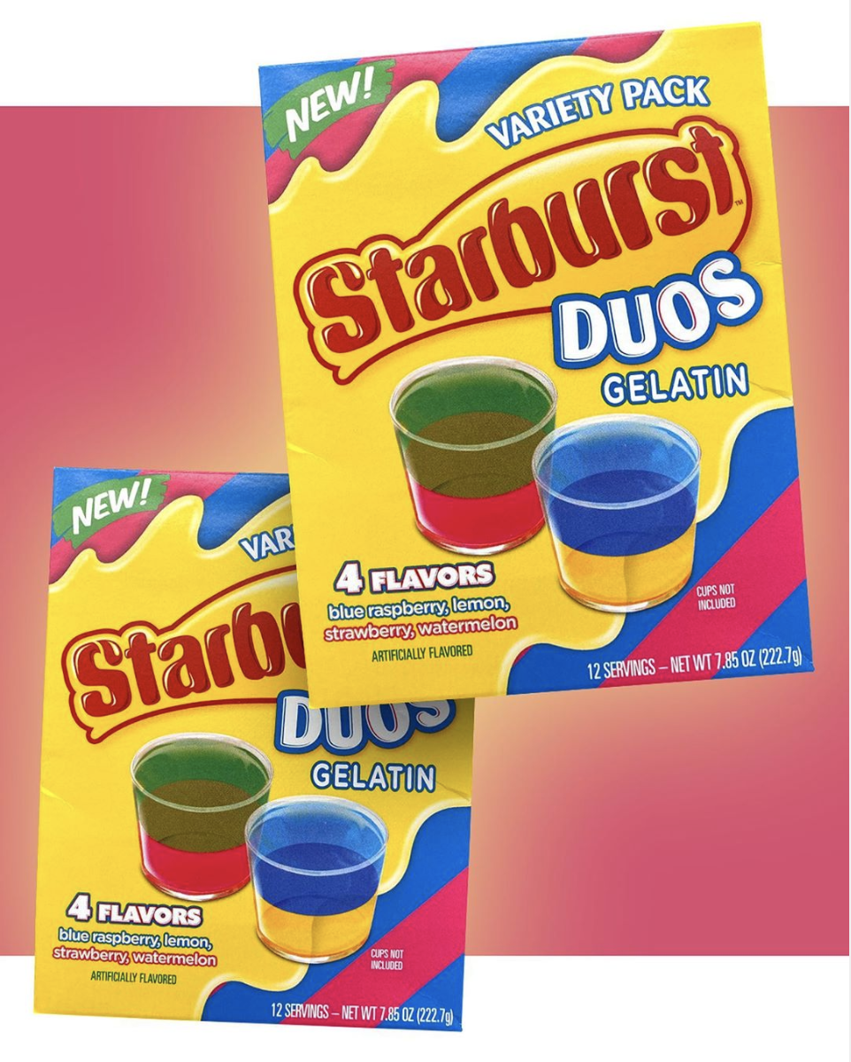 Starburst Duos Now Come In A Gelatin Mix That You Should Absolutely Use For Jell-O Shots