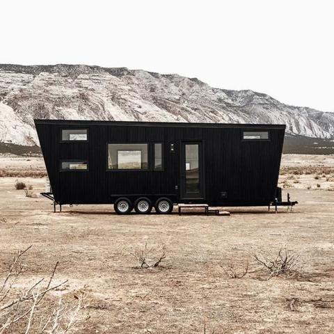 Transport, Shack, Landscape, Tree, House, Vehicle, Travel trailer, Rock, Trailer, Photography,