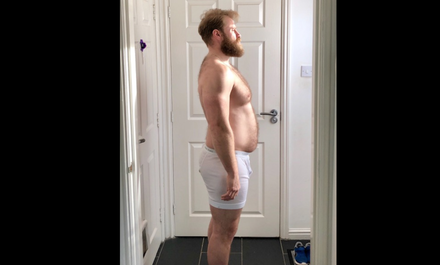 This Guy Lost 30 Pounds and Gained a Rock-Hard Six Pack