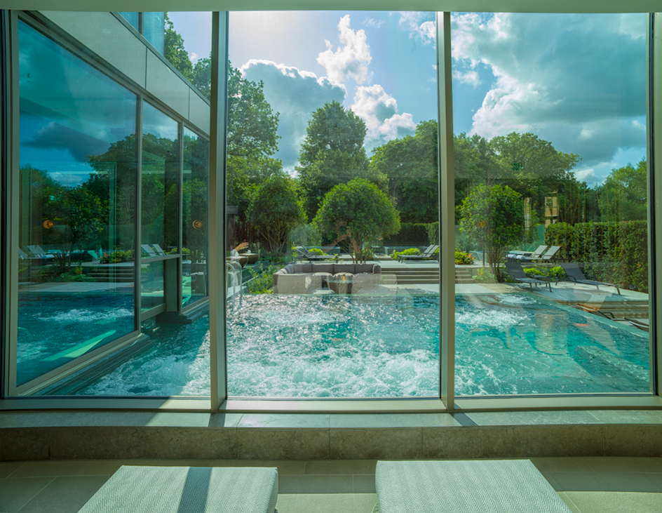 This is what a £14 million spa looks like